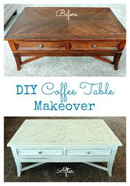 Diy Coffee Tables Diy Coffee Table Makeover Cozy Country Living