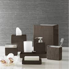 designing the bathroom with a modern bathroom accessories set