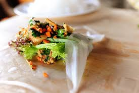 rice paper wrap leftover turkey rolls the pioneer woman