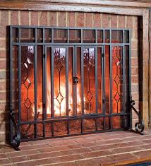 Baby Proof Fireplace Screen by Large Fireplace Screen Ebay