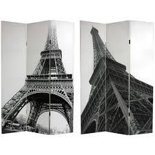 amazon com oriental furniture 6 ft tall double sided eiffel