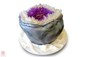 geode box amethyst geode wedding cake youtube