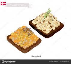 cuisine danemark smorrebrod avec sauce aux haricots blancs le plat national du