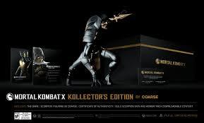 Challenge Escorpion Dorado Mortal Kombat X Edición Coleccionista Y Ediciones Especiales