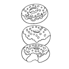 top 10 donut coloring pages for your toddler