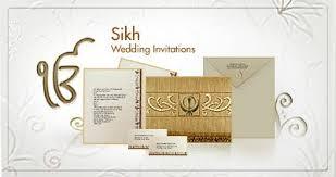 sikh wedding card punjabi wedding invitations paperinvite