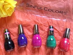 sinful colors sinfulshine u0027s rio flare collection for olympic gold