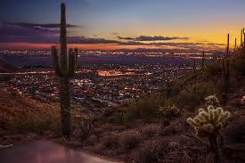 Sunrise Sunset Map Scottsdale After Sunset From The Sunrise Trail U2013 Buettner To Blog
