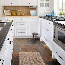 kitchen floors ideas slate kitchen floor idea remodel