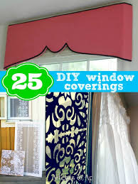 Curtain For Window Ideas 25 Diy Window Coverings Remodelaholic