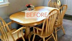 Orange Dining Room 9 Dining Room Table Makeovers We Can U0027t Stop Looking At Hometalk