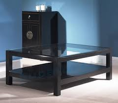 Coffee Tables Black Glass 10 Inspirations Of Black And Glass Coffee Table