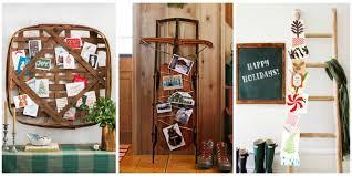 splendid design ideas ways to display christmas cards brilliant