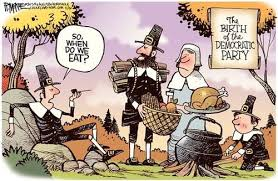 a thanksgiving political humor potluck