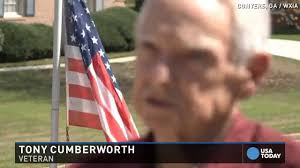 Backwards Us Flag Veteran Told He Can U0027t Fly American Flag In Yard Youtube