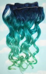 mermaid hair extensions 12 easy temporary hair dye options for brit co