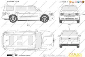 lexus is300 drawing the blueprints com vector drawing ford flex