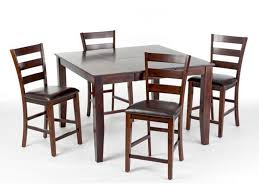 craft designs dining room kona pub table with 4 chairs 2 pub