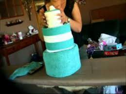 towel cakes how to make a towel cake finished rolling wmv