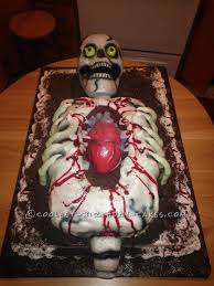Gross Cakes For Halloween by Cool Skeleton Cake Skeletons Birthday Cakes And Cake