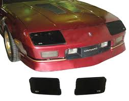 camaro light covers 1985 1989 camaro blackout covers set headlights iroc z and 90