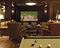 Media Game Room - designing a home theater room best home design ideas