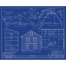 blue prints for homes gambrel roof house plans architecture blueprint waters