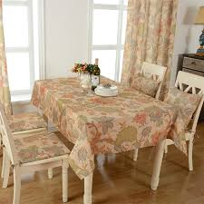 table cloth waterproof tableclothes flower print dining table