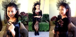 Girls Gothic Halloween Costumes Gothic Bride Easy Halloween Costume Idea