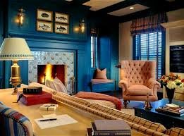 brown and blue living rooms wonderful home design