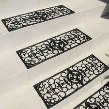 stair treads rubber heattrak heated decorative stair treads