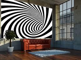 Schlafzimmer Xxl M El Amazon De Great Art 3d Tunnel Schwarz Weiß Wanddekoration