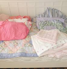Pottery Barn Catalina Twin Bed Pottery Barn Kids And Laura Ashley Twin Bed Linens Ebth Frame Dsc