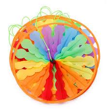 aliexpress com buy new rainbow wheel windmill wind spinner