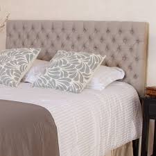 Cal King Headboard Noble House Benjamin Tufted Beige King Cal King Headboard