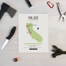 San Jose Map by Zombie Safe Zone San Jose Map Design Different