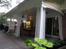 Mosquito Nets For Patio Inexpensive Patio Curtain Ideas U2014 Thenest