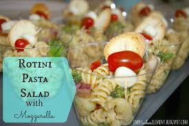 Homemade Pasta Salad by Emmy In Her Element Family Favorite Pasta Salad