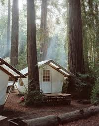 Wall Tent Platform Design by Little House In The Big Woods Tents