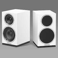 Wharfedale Bookshelf Wharfedale Diamond 220 Bookshelf Speakers White Pair Reverb