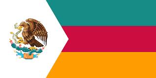 Cartoon Mexican Flag Flag Of A Modern Aztec Empire Vexillology