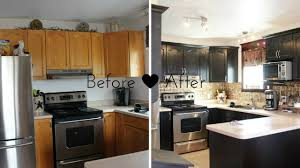 Kitchen Before And After by 30 Small Kitchen Makeovers Before And After Home Interior And Design
