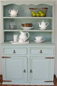Annie Sloan Duck Egg Blue by Annie Sloan Chalk Painted Hutch For The Dining Room With Duck Egg