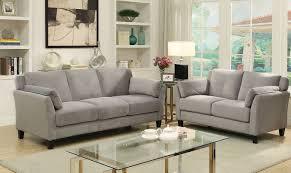 Grey Sofa And Loveseat Sets Ysabel Gray Sofa Andrew U0027s Furniture And Mattress