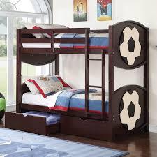 ACME Furniture All Star Twin Over Twin Bunk Bed Wayfair - Twin over twin bunk beds