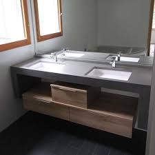 salle de bain plan de travail fabriquer meuble salle de bain avec plan de travail la nouvelle