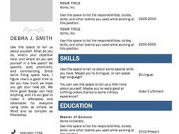 Resume Template On Word 2010 Resume Template Word 2010 Resume Example