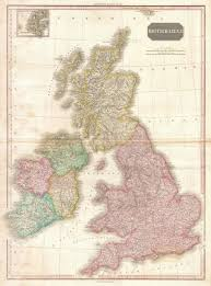 Map Of England And Scotland by File 1818 Pinkerton Map Of The British Isles England Scotland