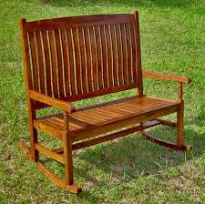 Creative Benches Creative Of Rocking Garden Bench Benches Teak Patio Furniture Teak