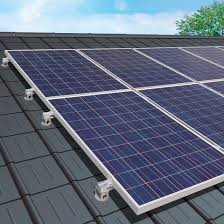 solar panels on roof roof mounting system on roof for pv applications